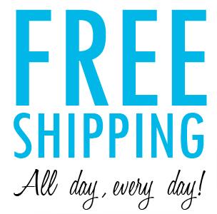 Free Shipping, No Minimum Purchase